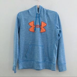 Under Armour ColdGear Embroidered Logo Hoodie